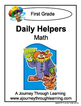 Grade 1 Math Daily Helper Lapbook