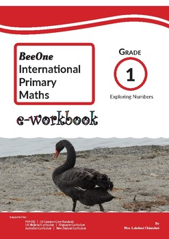 Grade 1 Math Exploring Numbers Workbook from BeeOne Books