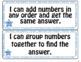 Grade 1 Math I Can Statements