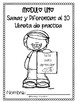 Grade 1 Math Module 1 Practice Notebook in SPANISH