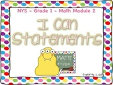 Grade 1 Math Module 2 I Can Statements