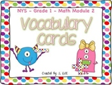 Grade 1 Math Module 2 Vocabulary Cards