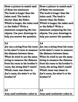 Grade 1 Math Module 3 Application Problems