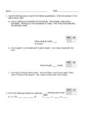 Grade 1 Math Module 4 Review 2