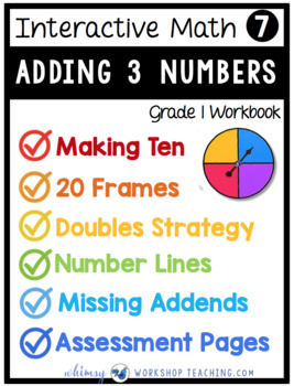 Grade 1 Math - Adding 3 Numbers - Unit 7