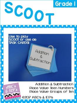 Math SCOOT - Grade 1