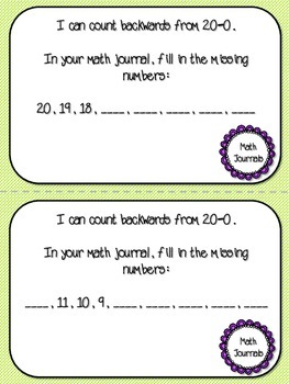 Grade 1 Math Task Cards Number and Operations Interactive