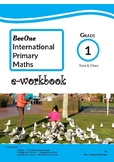 Grade 1 Math Tens & Ones Workbook from BeeOne Books