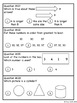 Grade 1 Math Test Prep - Standardized Testing and SAT 10 Review