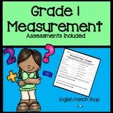First Grade Math Unit Measurement 1