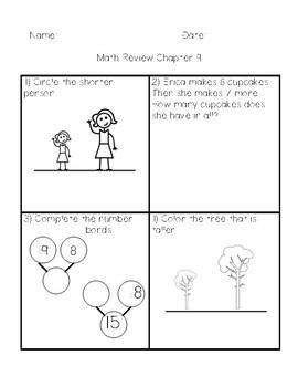 Grade 1 Math in Focus Chapter 9 Length