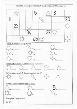 Grade 1 Maths 2:Counting, Before, After, Between, More & Less Than