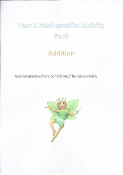 Grade 1 Maths Activity Pack Addition 100 pages with answers Part 2