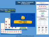 Grade 1 Maths Powerpoint & Worksheets - Finding One More a