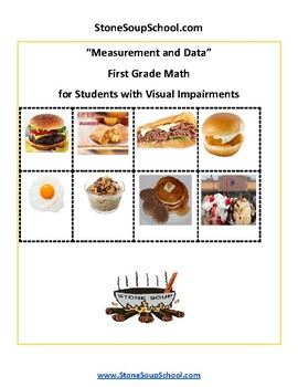 Grade 1 - Measurement and Data - Students with Visual Impairments - Common Core