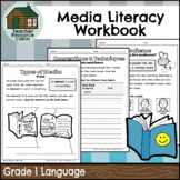 Grade 1 Media Literacy Workbook | NO PREP (Ontario Language Curriculum)