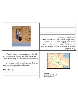 Grade 1: Mesopotamia Foldable