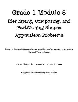 Grade 1 Module 5 Application Problems
