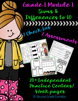 Grade 1 Module 1 Check Ins, Assessments & Independent Stations