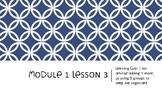 Interactive Eureka PPT: Grade 1 Module 1 Lesson 3