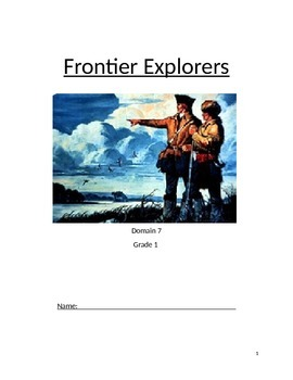 Grade 1 Module 11 Frontier Explorers