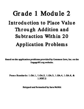 Grade 1 Module 2 Application Problems