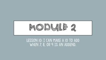 Interactive Eureka PPT: Grade 1 Module 2 Lesson 10