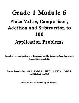 Grade 1 Module 6 Application Problems