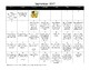 Grade 1 Monthly Homework Calendars 2017-2018