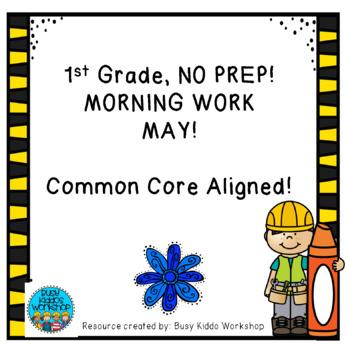 Grade 1 Morning Work- May