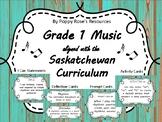 Grade 1 Music (Arts Education) Saskatchewan