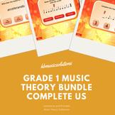 Grade 1 Music Theory Interactive And PDF Bundle US Version