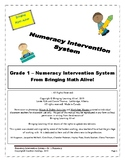 Grade 1 - Numeracy Intervention System (114 Pages of FREE!!!)
