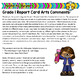Grade 1 Ontario Arts Report Card Comments