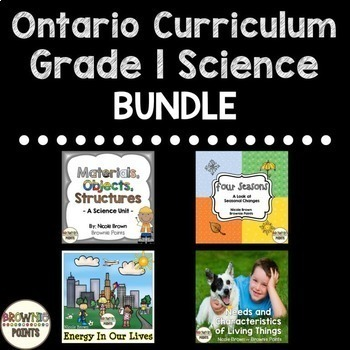 Grade 1 Ontario Science Curriculum {BUNDLE}