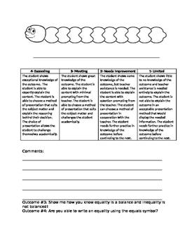 Grade 1 Patterns Test