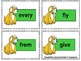 "Sight Words: Grade 1 ""Pawsome"" Dolch Word Flashcards"