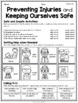 {Grade 1} Personal Safety and Injury Prevention Activity Packet