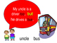 Grade 1 - Picture Talk and Picture Writing (sentences)