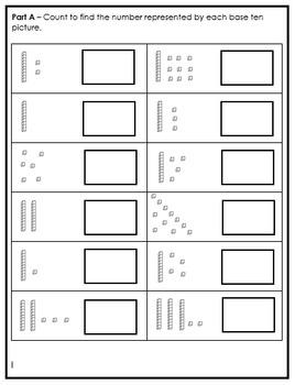 Grade 1 Place Value Quiz