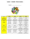 Grade 1 Place Value Test