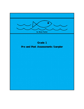 Grade 1 Pre and Post Assessment Questions