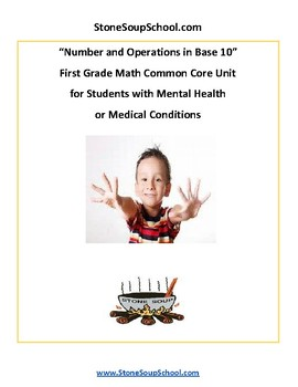 G 1 - Numbers/Operations Base 10 - Student w/ Mental Health or Medical Condition