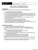 [Grade 1] Literature Assessment 1 - Guide & Answer Key