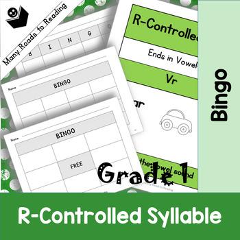 Grade 1 R-Controlled Pattern Bingo Game