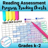 DRA Reading Progress Tracking Charts Grades k-2