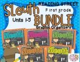 Grade 1 Reading Street SLEUTH Units 1-5 BUNDLE