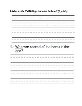 Grade 1 Reading Test