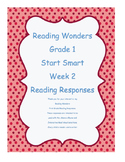 Grade 1 ~ Reading Wonders ~ Start Smart ~ Week 2