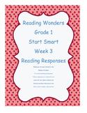 Grade 1 ~ Reading Wonders ~ Start Smart ~ Week 3